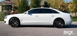 Audi A8 Niche Laguna Wheels Matte Black, DDT Face, Matte ...