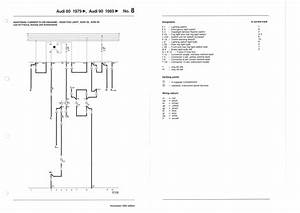 Wiring Diagrams For The B2 Type 85 Audi Coupe  Gt And