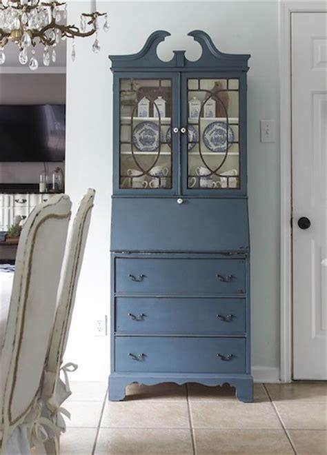 peindre ses meubles en bleu exemples  idees