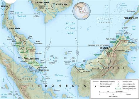 malaysia map kuala lumpur