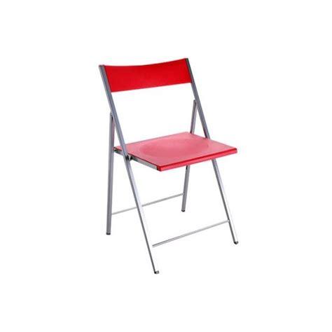 Chaise Pliante Rouge Bilbao  Achatvente Chaise Salle A