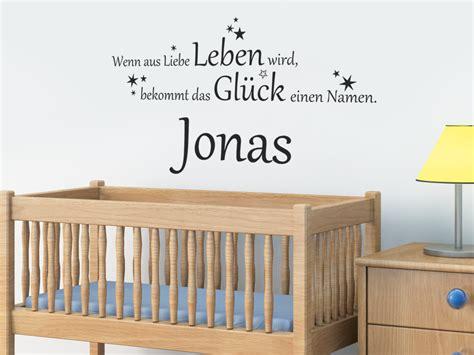 Babyzimmer Gestalten Wandtattoos by Baby Wandtattoo Das Gl 252 Ck Mit Wunschname Wandtattoo Net