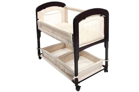 Arms Reach The Cambria Co-sleeper® Bedside Bassinet- Natural