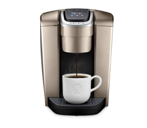 This is one very easy and convenient machine to use and has a huge water reservoir. Keurig Elite Single Serve Coffee Maker - SweetScore