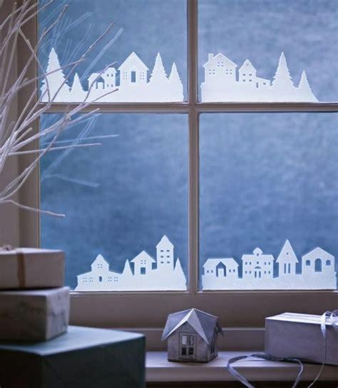 Fensterdeko Weihnachten Diy by Fensterbilder Zu Weihnachten Originelle Bastelideen Zum