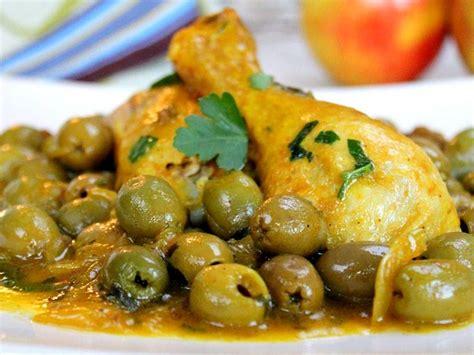 cuisine marocaine poulet aux olives tajine de poulet aux olives blogs de cuisine