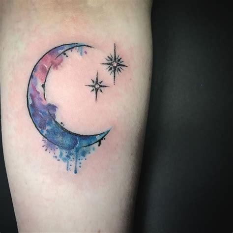 crescent moon tattoos ideas  pinterest moon tattoos moon tatto  luna tattoo