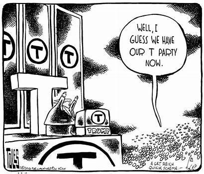 Editorial Cartoonists Trump Donald Toles Washington Tom
