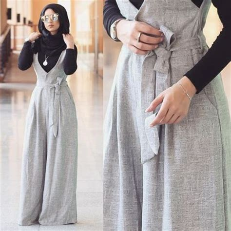 wear jumpsuits  hijab  trendy girls