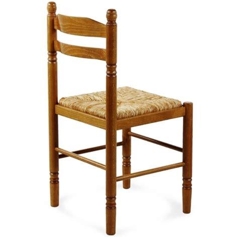 chaise en bois et paille chaise de salle à manger en bois paille jeanne 424