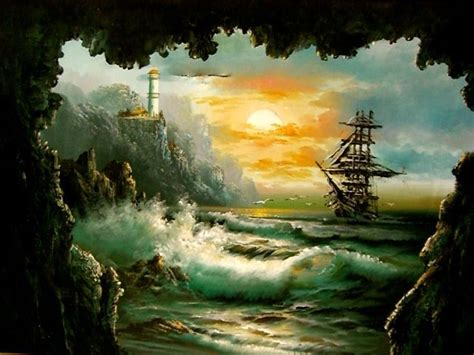Sailing Boat Expressions by Pirate Ship Paintings Google Search Artistic