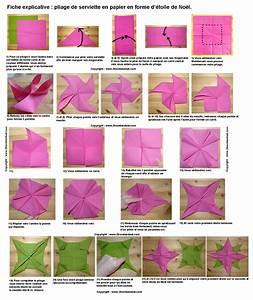 Pliage De Serviette En Etoile : pliage de serviettes de table en papier pliage de papier ~ Melissatoandfro.com Idées de Décoration
