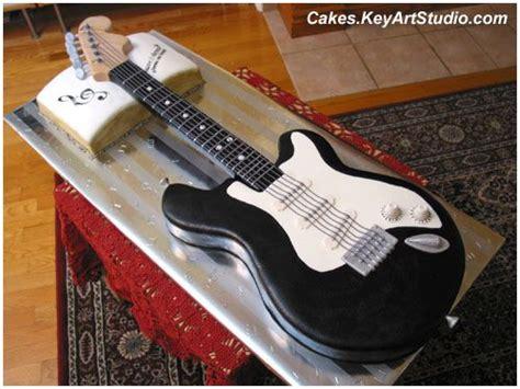 electric guitar cake rock star party guitar cake