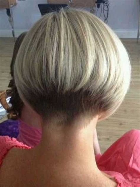 Graduated bob hairstyle back view   rkomedia
