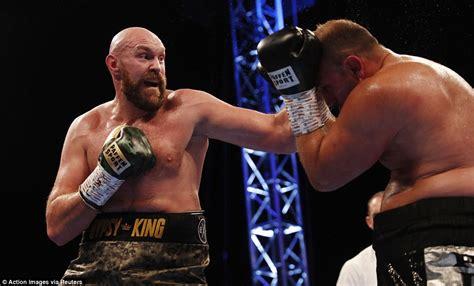 Tyson Fury claims unanimous points win over Francesco ...