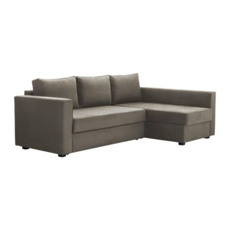 manstad sectional sofa bed storage ikea manstad ikea reviews
