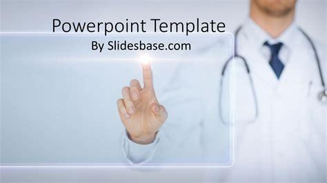 medical technology powerpoint template slidesbase