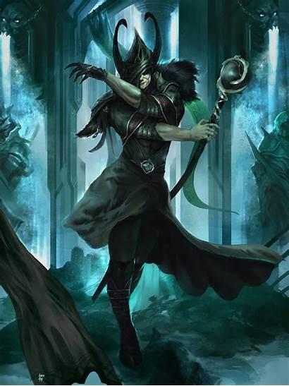 Loki Deviantart God Norse Fantasy Mischief Mythology