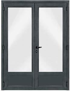 porte fenetre pvc 2 ouvrants With porte de garage enroulable avec cout porte fenetre pvc double vitrage