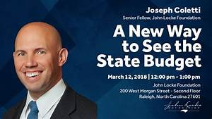 A New Way to See the State Budget - John Locke Foundation