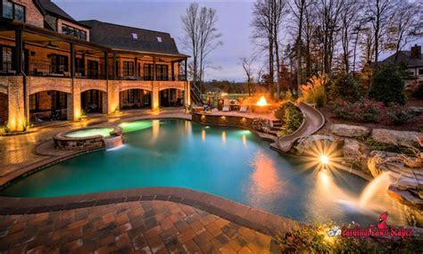 beautiful patios with pools www pixshark images