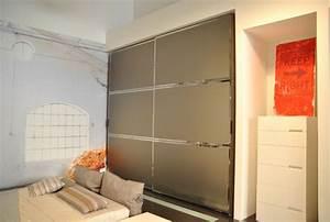 Armadio Reflex Veneran a due ante scorrevoli finitura specchio bronzo acidato Armadi a prezzi