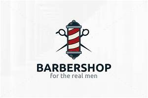 Barber Shop Logo Template ~ Logo Templates ~ Creative Market