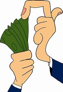 Hand Giving Money Clipart (45+)