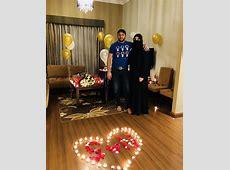 Shahid Afridi Celebrating his 18th Wedding Anniversary