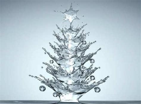water droplet christmas tree mocamorfosis