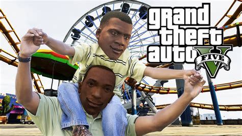 Is Franklin Cj's Son? Gta 5 Game Theory