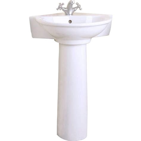 Small Corner Bathroom Sink With Pedestal by 1000 Ideas About Corner Pedestal Sink On
