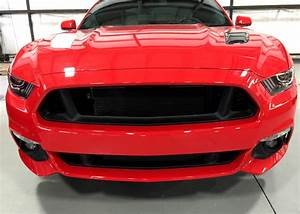 2015-2017 Ford Mustang Factory Grille Delete Package