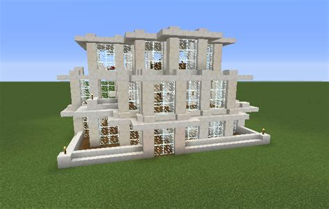 minecraft quartz house modern quartz house grabcraft your number one source
