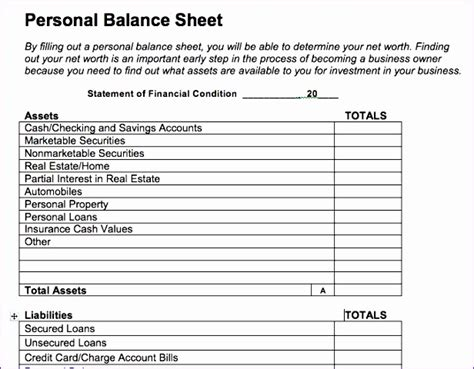 income statement  balance sheet template excel