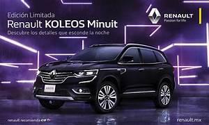 Renault Koleos Minuit 2019 Edici U00f3n Limitada Llega A M U00e9xico