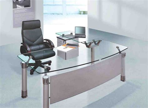 furniture bureau desk glass office desk furniture decor ideasdecor ideas