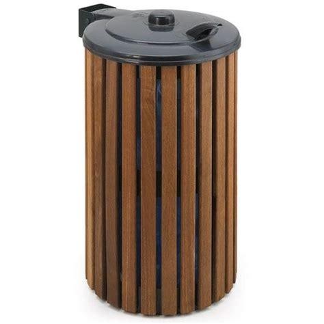 poubelle en bois cuisine poubelle d 39 extérieur en bois 75 l achat vente poubelle