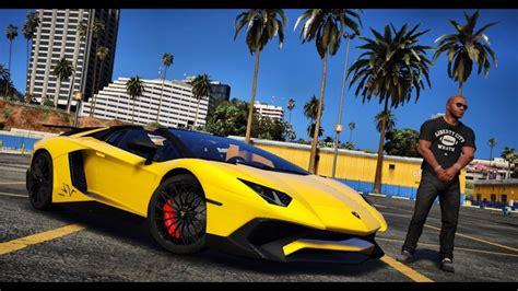 Gta 5 Mod  Real Life Engine Sound Mod! Lamborghini