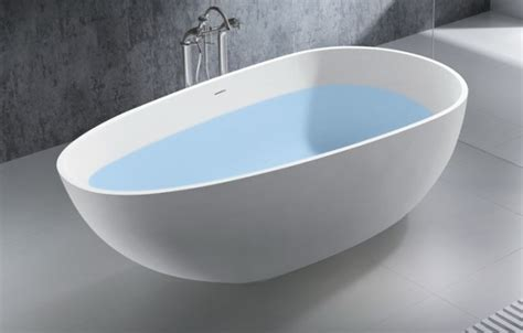 Egg shaped bathtub egg shaped freestanding artificial bathtub