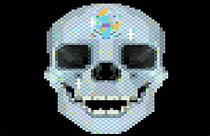 Astronaut 8-Bit Skull (page 2) - Pics about space