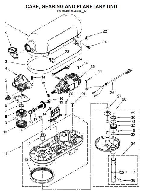 Kitchenaid Mixer Repair Seattle by Kitchenaid Parts Kitchen Cabinets Design