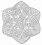 Celtic Coloring Pages sketch template