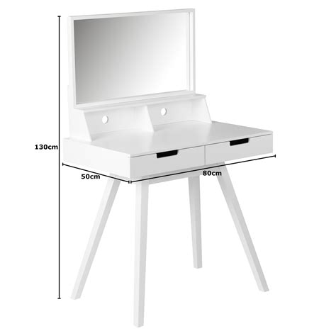 Hartleys Bedroom Dressing Table With Folding Vanity Mirror by Hartleys White Dressing Table Makeup Jewellery Storage