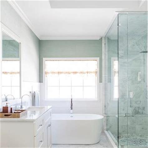 seafoam green bathroom ideas seafoam green grasscloth wallpaper design decor photos pictures ideas inspiration paint