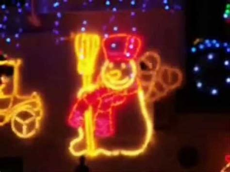 christmas lights in st austell cornwall youtube
