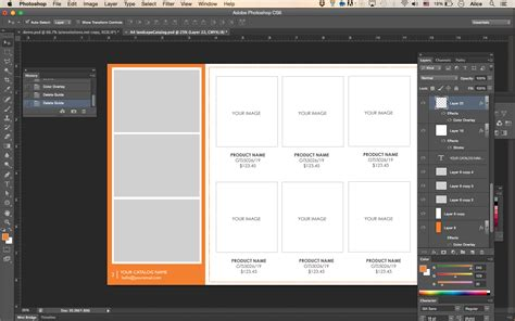 note card template in design wholesale catalog template product catalog indesign