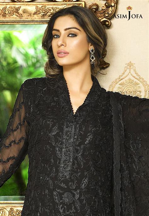 pakistani fancy dresses asim jofa mysorie chiffon collection
