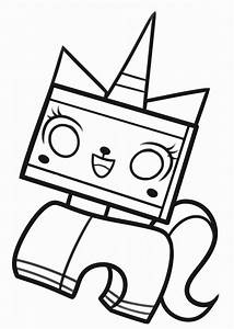 The Lego Movie Coloring Pages Birthday Printable