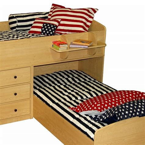 bunk bed huggers americana bunk bed hugger fitted comforter